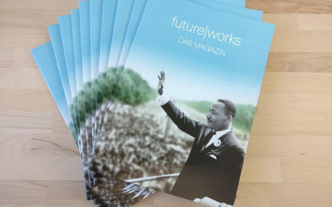 future|works DAS MAGAZIN ist da!